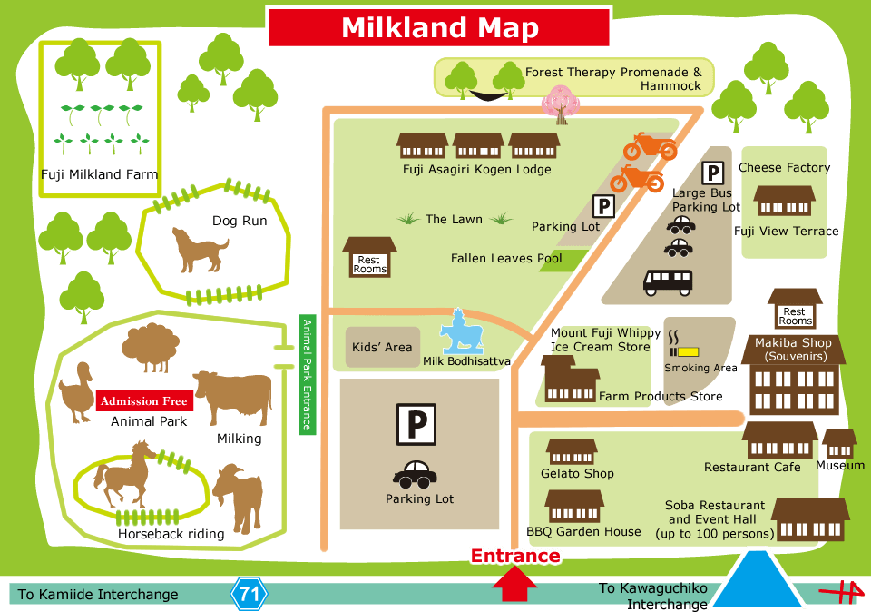 Milk Land Map