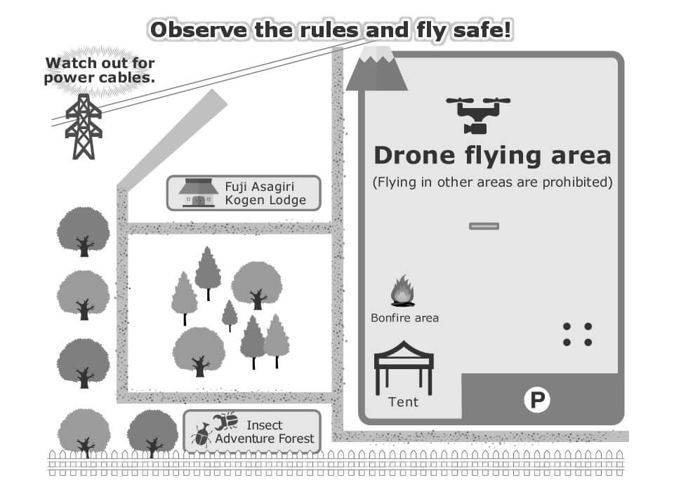 Map of Drone-Flying Area