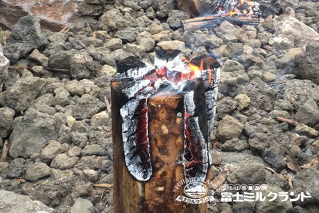 Firewood and Woodcutter's Candle