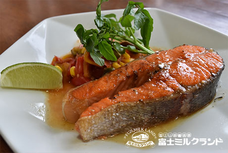 Grown By The Spring Water Of Fuji, A Large Rainbow Trout Steak Set